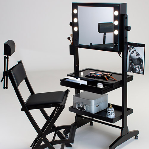 table maquillage professionnel table de lit. Black Bedroom Furniture Sets. Home Design Ideas